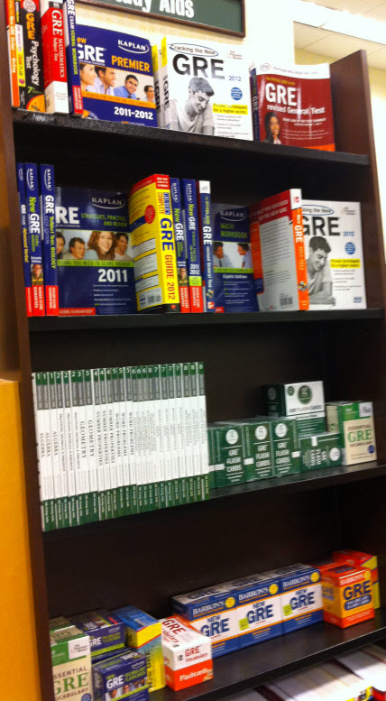 Best GRE Study Materials and Books for GRE Test Preparation