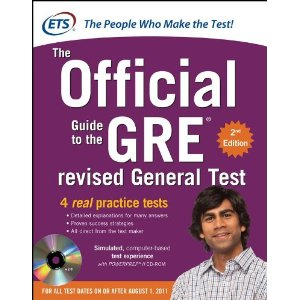 best gre test prep books 2013