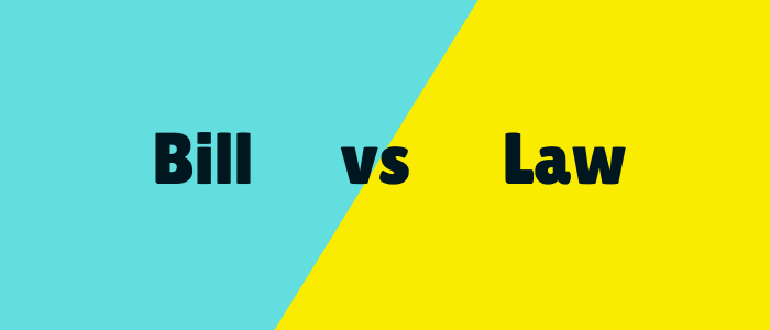 bill vs law usa