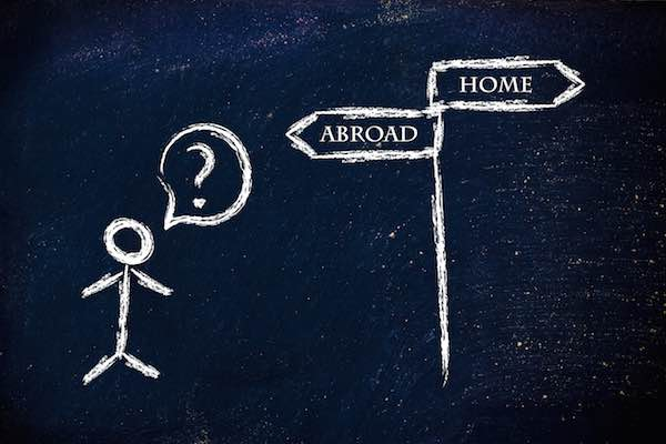 Difficulty and advantage studying abroad
