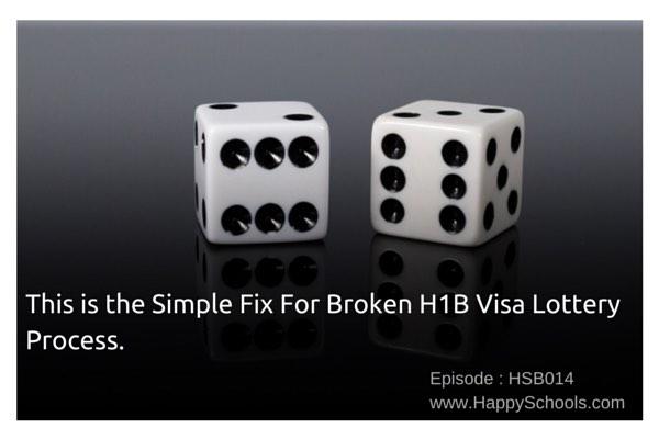 Simple Fix H1B visa lottery process