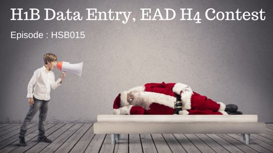 H1B Data Entry, EAD H4 Contest