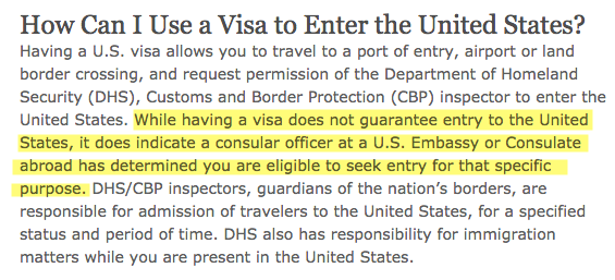 visa vs status