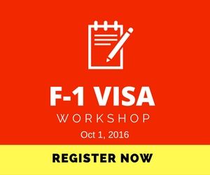 f1 visa workshop