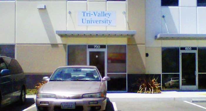 tri-valley university shuts down