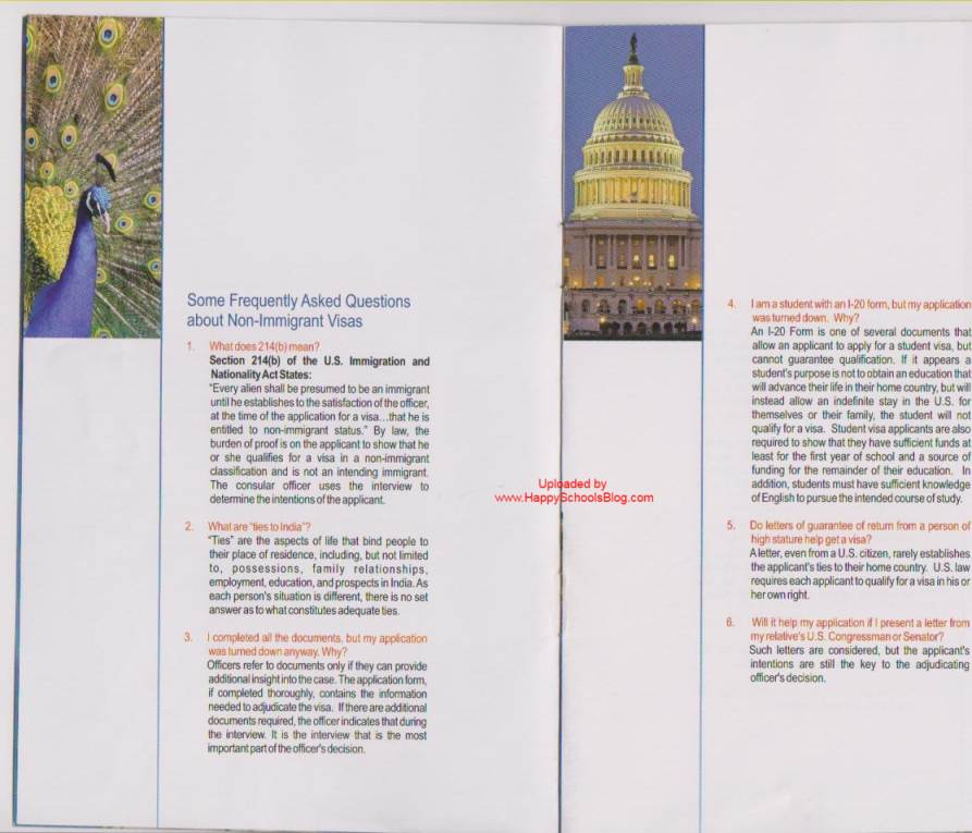 Sample f1 visa rejection reasons booklet 214b potential immigrant f1 visa rejection 214b spiritdancerdesigns Choice Image