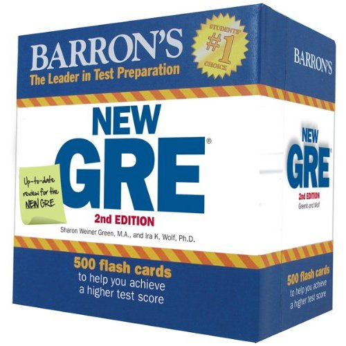 Barrons New GRE Flash Cards