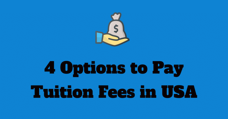 4 Options to Pay US University Tuition Fees