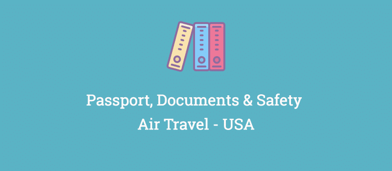 passport documents safety usa air travel
