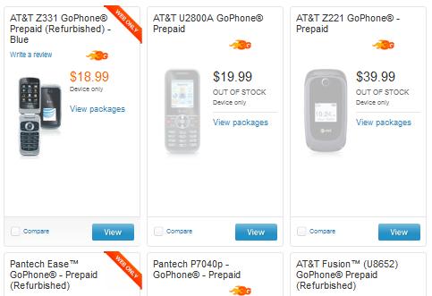 ATT Prepaid Phones