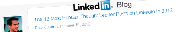 linkedin thought leaders