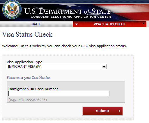 Us Travel Visa Application Status
