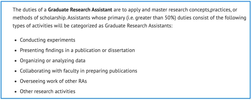 Types of Assistantships – Graduate Assistantships - University of Illinois Springfield - UIS
