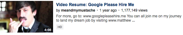 get job using youtube