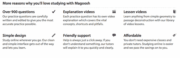 Magoosh GRE Features