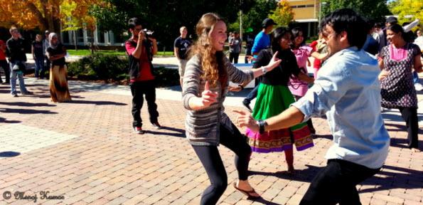 CSU-Flashmob