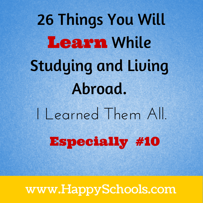 Learn While Studying Abroad