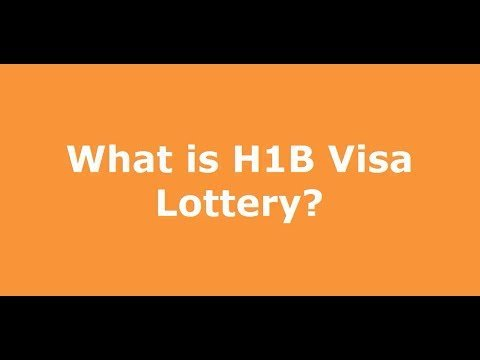 what is hb visa lottery