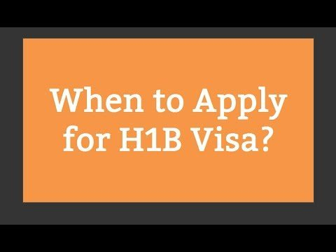 when to apply for h1b visa