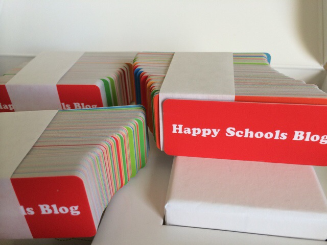 happy schools blog business card