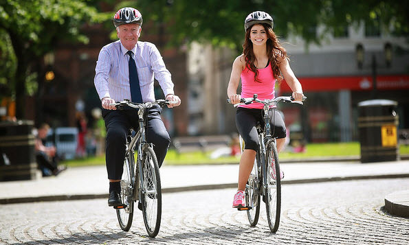biking in dublin ireland