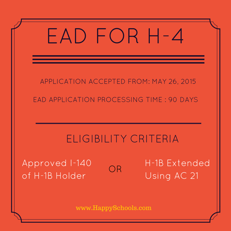 Here's Your Guide to Apply for EAD for H4 Visa