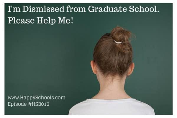 Dismissed Graduate School