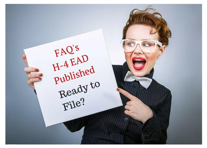 FAQ's- H4 EAD