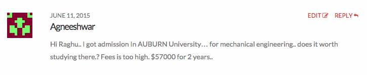 auburn university tuition fees