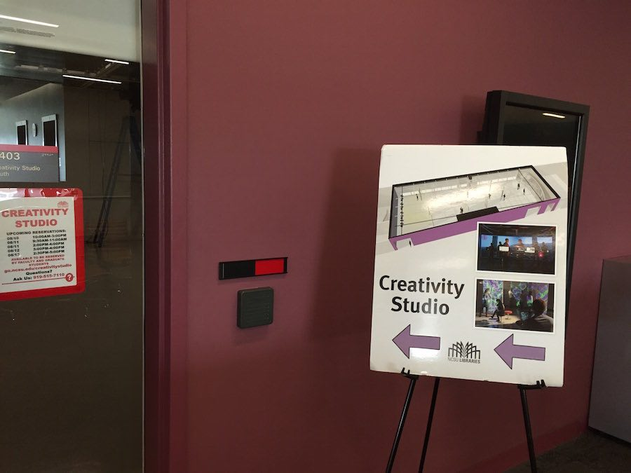 Creativity Studio in ncsu