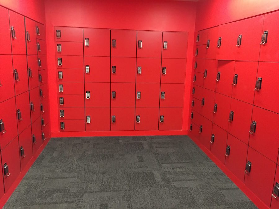 Student Lockers hunt library