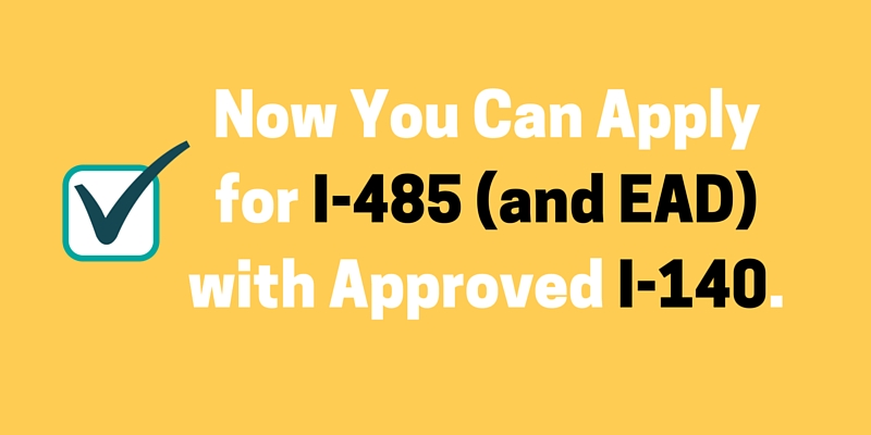 [Updated] Are You Ready to Apply for EAD with Approved I-140?
