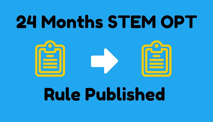 24 months stem opt rule published