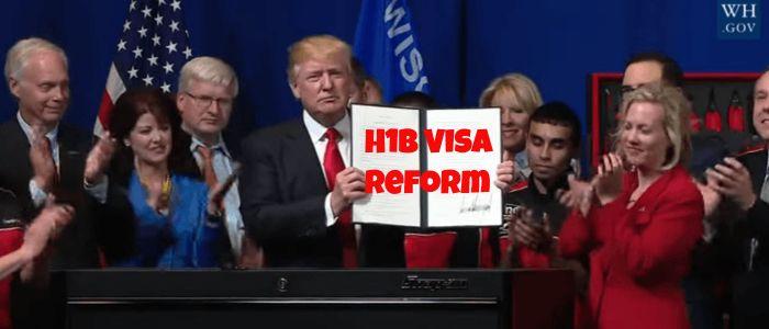 President Trump Signs Executive Order to Reform H1B Visa (& More)