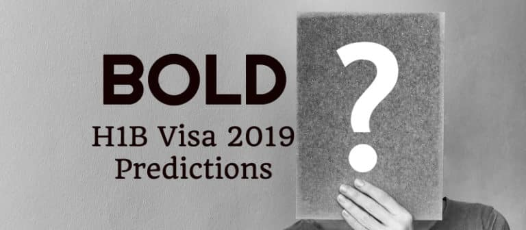 H1B Visa 2019 Predictions –  Can Applications Reach 300,000 This Year?