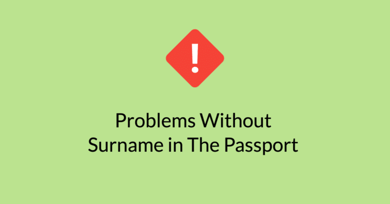 Surname Problems: Passport vs Certificates, Marksheets and Documents