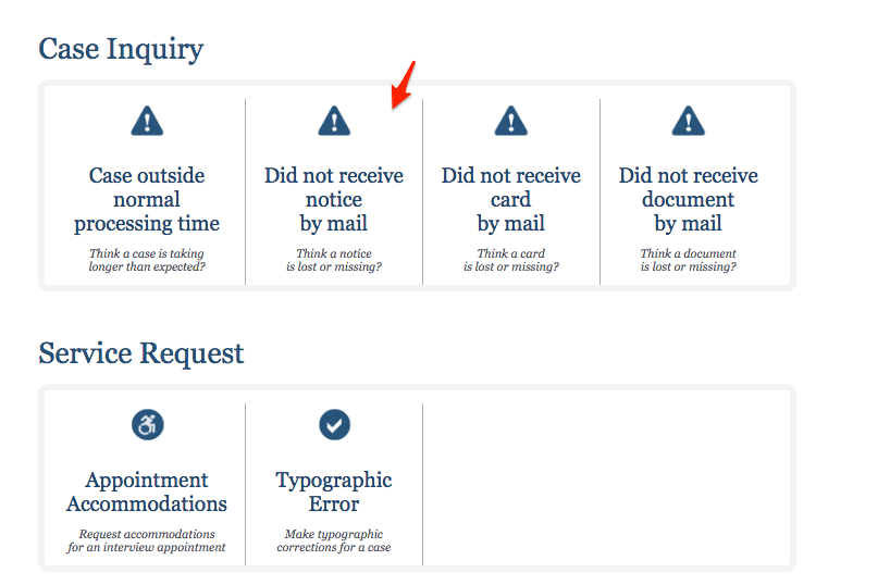 uscis receipt lost or missing