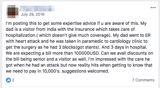insufficient insurance coverage