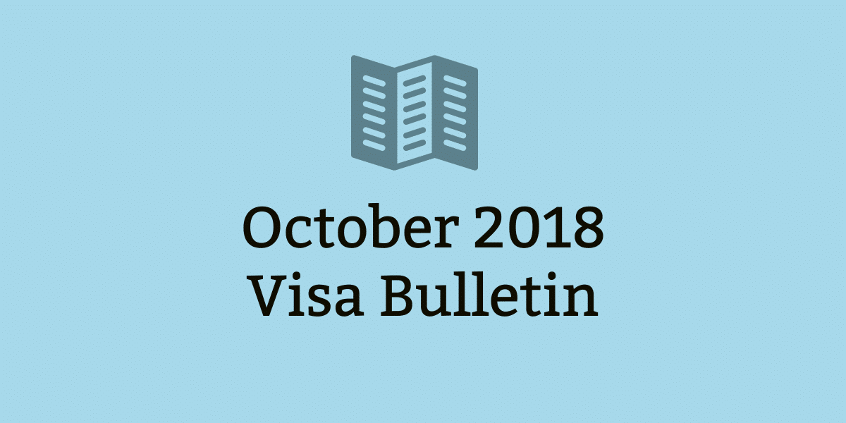 october visa bulletin 2018 eb2 eb3 india