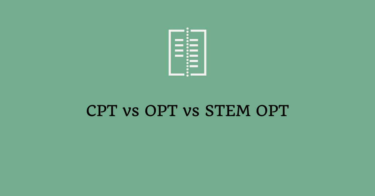 cpt vs opt vs stem opt