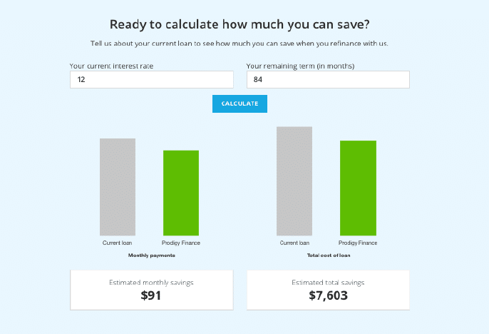 international student loan refinance savings calculator