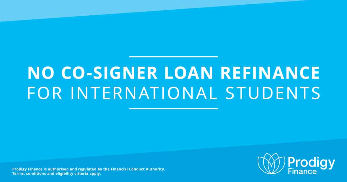 no cosigner international student loan refinance prodigy finance