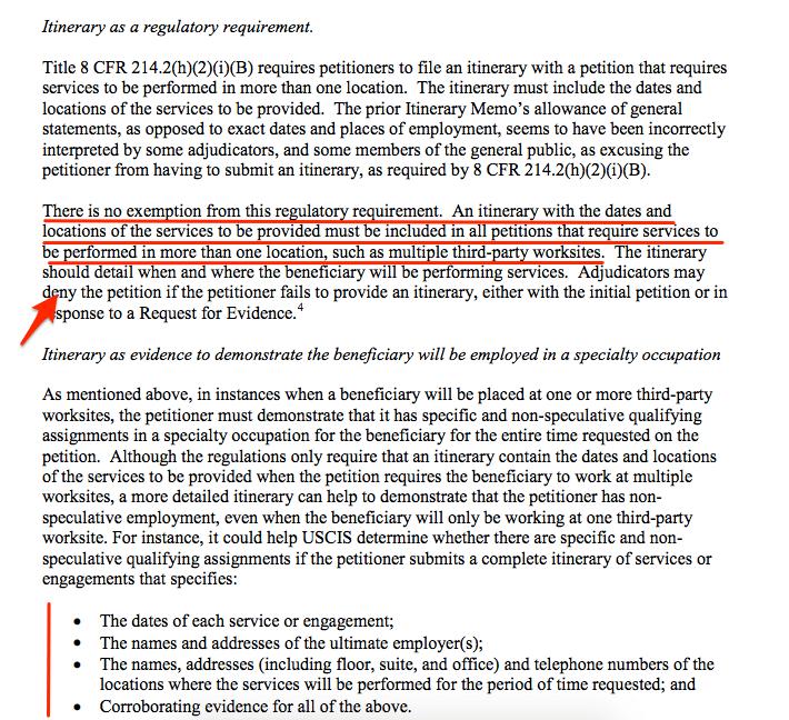 H1B Visa RFE's - Top 10 Reasons Why RFE's Were Issued by USCIS
