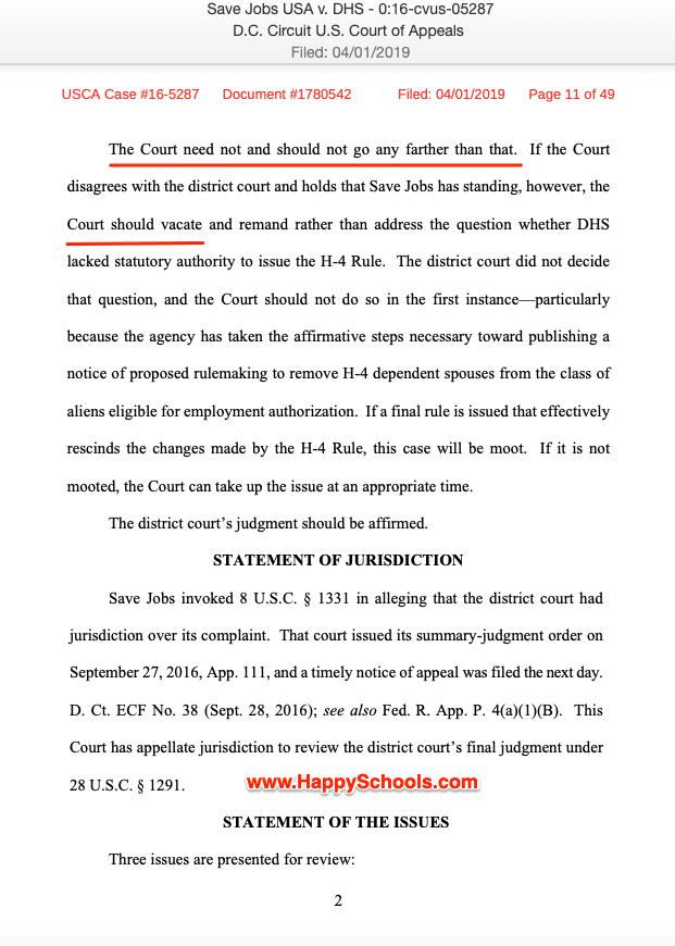 h4 ead lawsuit save jobs usa update page 2