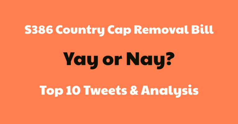 Top 10 Tweets About S386 Bill – Green Card Country Cap Removal