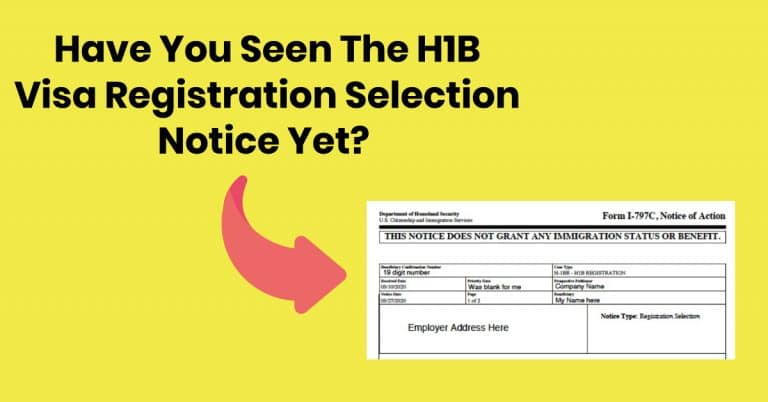This is How Your H1B Visa Lottery Selection Notice Looks (Screenshots)