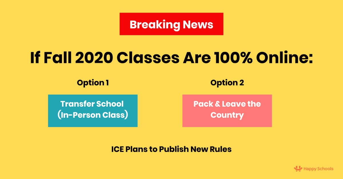 new f1 visa rules for fall 2020 sevp ice m1 visa
