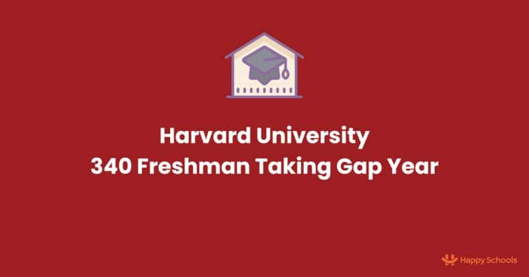 340 Harvard University Freshman Have Taken Gap Year