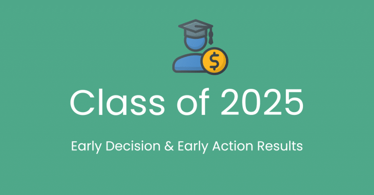 Class of 2025 – Early Decision and Early Action Results