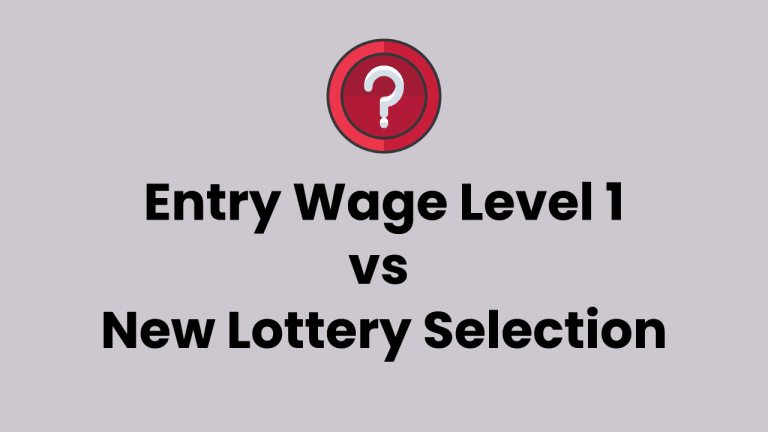 Entry Level – Wage Level 1 – Chances of Selection Salary Based H1B Lottery Process?